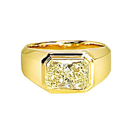 Yellow Gold 2.01ct. Yellow Diamond Ring Size 9.5