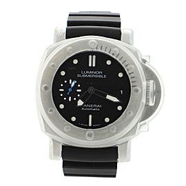 Panerai Luminor Submersible PAM 25 Automatic Watch Titanium and Rubber 44