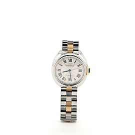 Cartier Cle de Cartier Automatic Watch Stainless Steel with Rose Gold 40