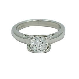 Roberto Coin Platinum 1.03ct Diamond Womens Ring Size 5.5