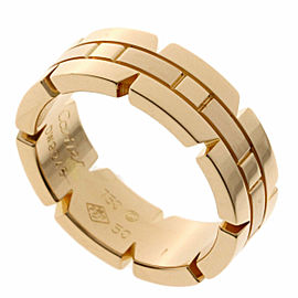 CARTIER 18k Pink Gold Tank Francaise Ring