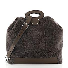 Louis Vuitton Haut Cabas Shearling