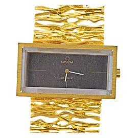 Omega DeVille 1970s Gold Watch Bracelet