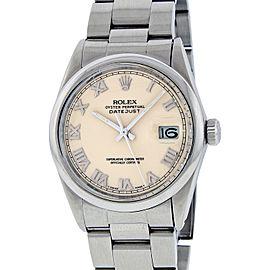 Rolex Datejust 16200 Stainless Steel 36mm Watch