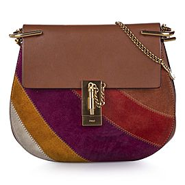 Drew Patchwork Leather Crossbody Bag
