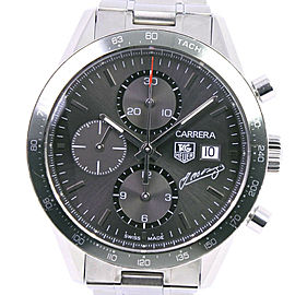 TAG HEUER CV201C.BA0786 Carrera Stainless Steel Limited to 4000 Watch