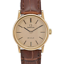 OMEGA Vintage vill gold Dial Cal.625 Hand Winding Ladies Watch