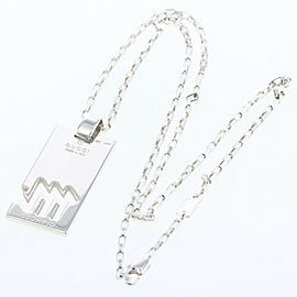 GUCCI 925 silver Constellation Scorpio Necklace