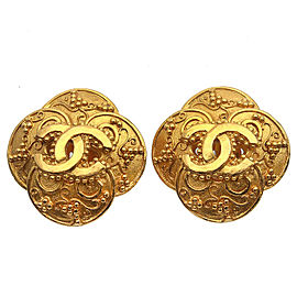 CHANEL Coco Mark Vintage Earrings