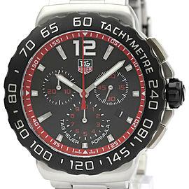 Polished TAG HEUER Formula 1 Chronograph Steel Quartz Watch CAU1116