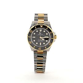 Rolex Oyster Perpetual Sea-Dweller Automatic Watch Ceramic and Stainless Steel and Yellow Gold 40