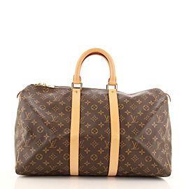 Louis Vuitton Keepall Bag Monogram Canvas 45