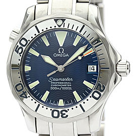Polished OMEGA Seamaster Professional 300M Steel Mid Size Watch 2253.80
