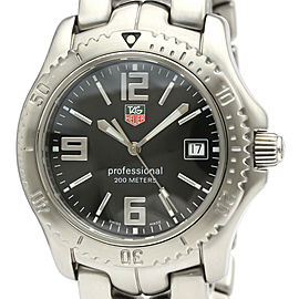 TAG HEUER Stainless steel Link Professional Watch HK-2020