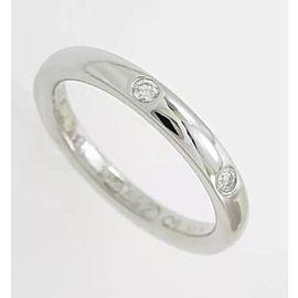 Van Cleef Arpels Tendrement Etoiles Platinum Diamond Ring