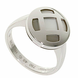 CARTIER 18k White Gold Pasha Ring