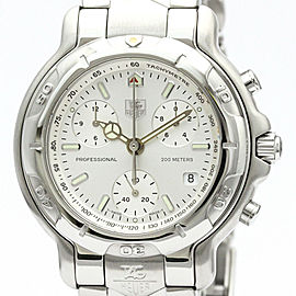 TAG HEUER 6000 Chronogragh Steel Quartz Mens Watch CH1110