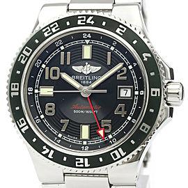 Polished BREITLING Super Ocean GMT LTD Edition Automatic Watch A3238
