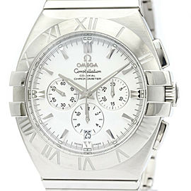 Polished OMEGA Constellation Double Eagle Chronograph Watch 1514.20