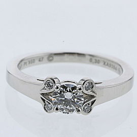 CARTIER platinum/diamond Ballerina Ring