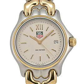 TAG HEUER S/el S05.013M Stainless Steel&Gold Plated Quartz Boy's Watch