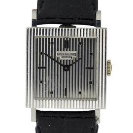 Patek Philippe 3467G 18K White Gold Vintage 26mm Rare Womens Watch