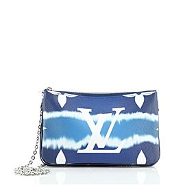 Louis Vuitton Double Zip Pochette Limited Edition Escale Monogram Giant