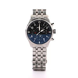 IWC Schaffhausen Pilot Chronograph Automatic Stainless Steel 43 Watch