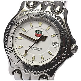 Tag Heuer Cell WG1110 Stainless Steel Quartz 38mm Mens Watch