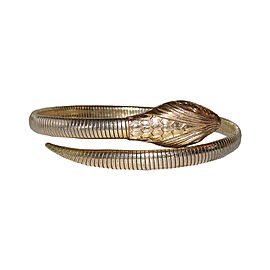 Forstner 12K Gold Filled Snake Coil Bracelet