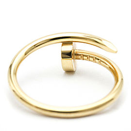 CARTIER 18K Yellow gold Juste un Clou SM Ring