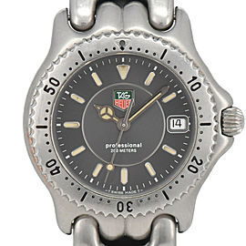 TAG Heuer S/el Professional 200m WG1213-KO Date Quartz Boy's Watch