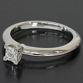 Tiffany & Co. 950 Platinum 0.18ct Diamond Ring US 3.25
