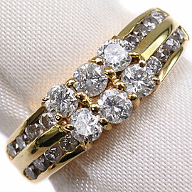 18k Gold/diamond Ring