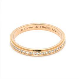 Cartier 18K pink gold Diamond Ring