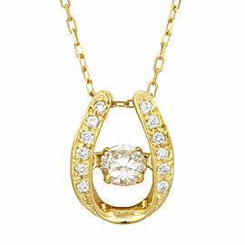 18k Gold and Diamond Dancing Azuki Necklace