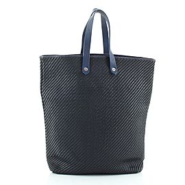 Hermes Ahmedabad Tote Woven Leather and Canvas GM