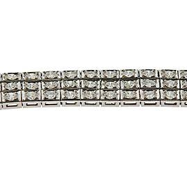6 Carat Diamond Gold Bracelet