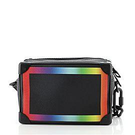 Louis Vuitton Soft Trunk Bag Rainbow Taiga Leather Mini
