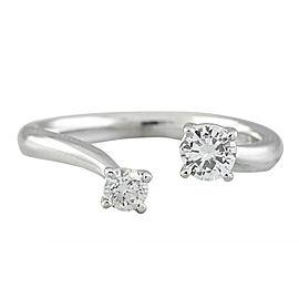 0.35 Carat 14K White Gold Diamond Ring