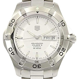 Tag Heuer Aquaracer WAF2011. BA0818 Stainless Steel 42mm Mens Watch
