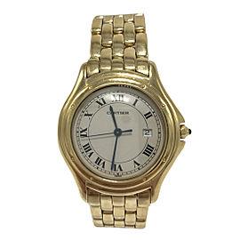 Cartier Cougar 887904 33mm Womens Watch