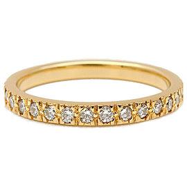 Tiffany & Co. Diamond & 18k yellow gold Novo Half Circle Ring