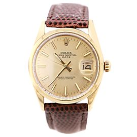 Rolex Oyster Perpetual Datejust 34mm Watch