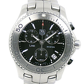 TAG HEUER CJ1110.BA0576 Stainless Steel Chronograph Link Watch