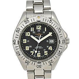 BREITLING Colt A57035 Date black Dial Date Quartz Men's Watch