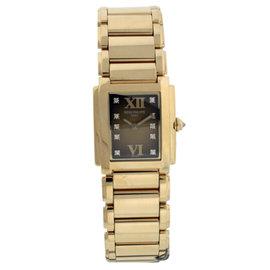 Patek Philippe Twenty-4 4907/1J Brown Dial With Diamonds 18K Yellow Gold Womens Watch