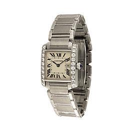 Cartier Tank Francaise 2465 25mm Womens Watch