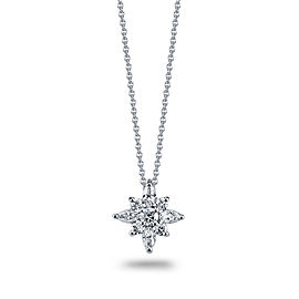 Kwiat Platinum 0.44ct. Diamond Star Pendant Necklace
