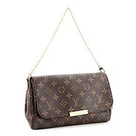 Louis Vuitton Favorite Handbag Monogram Canvas MM